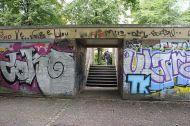 Vor der Herbstakademie in OSM noch nicht erfasster Weg am südlichen Ende des Schlossgartens
