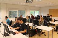 Computerraum des Instituts für Geoinformatik und Fernerkundung