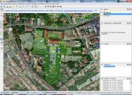 OpenStreetMap Editor JOSM - Situation während der Dateneingabe