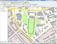 Erfasste GPS-Daten im Gauss Krüger System